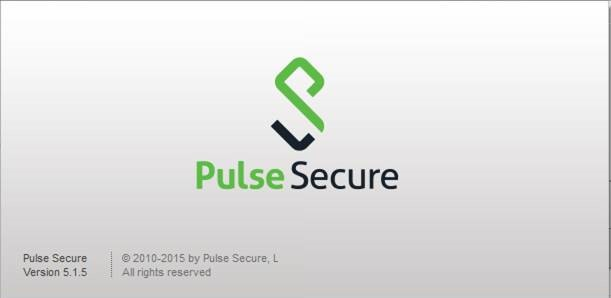 Pulse Secure Splash Screen on Startup